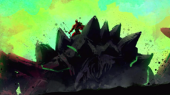 TheFalloftheEasternChampion(31) - Yang stands on the defeated monster