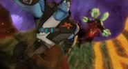 Grimmstone atakuje Korda