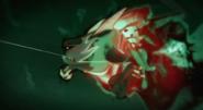 Lecący Goon Doc atakuje Burpy`ego