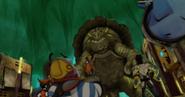 Żółwik w miescie