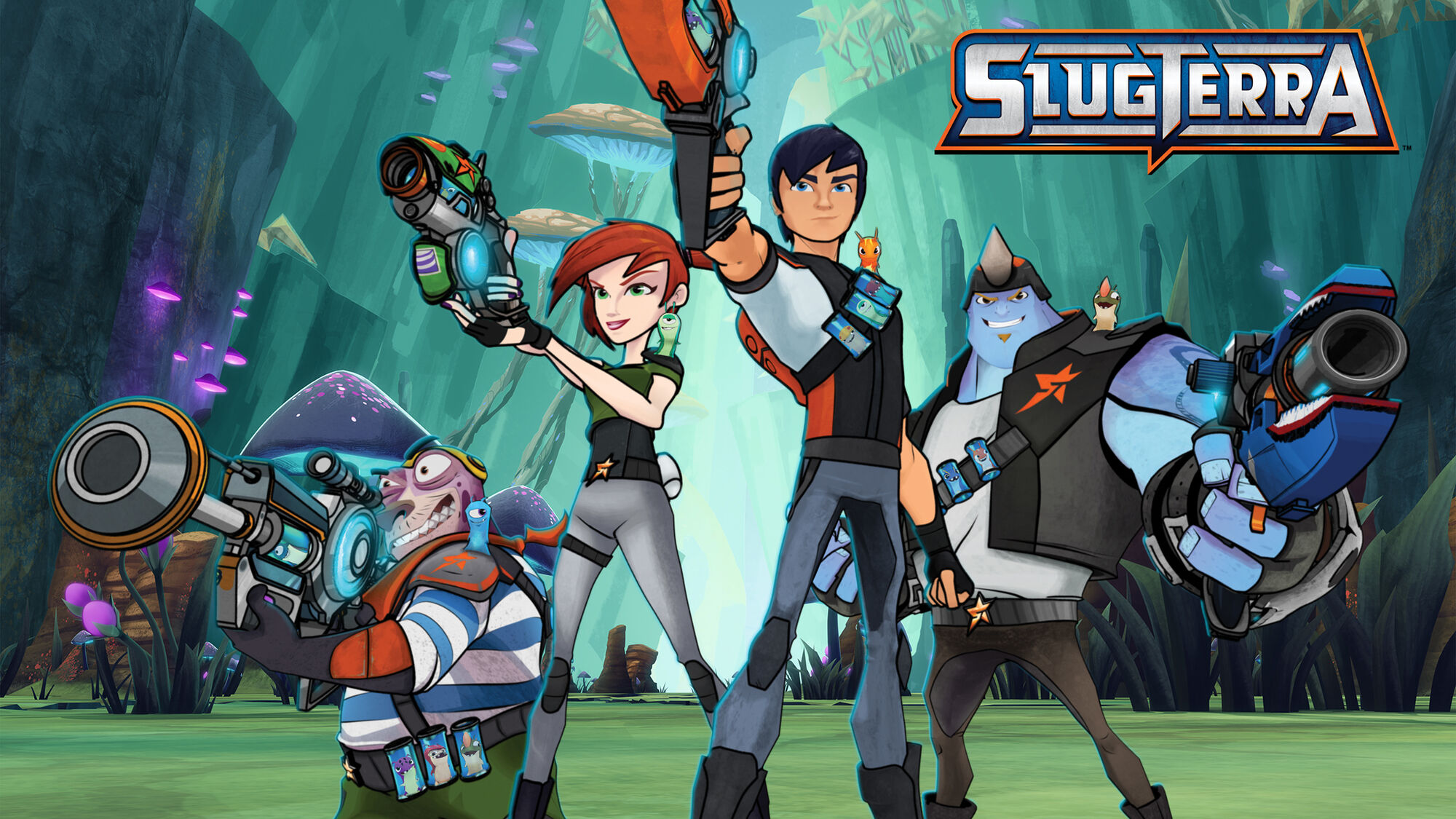 Season One Slugterra Wiki Fandom Powered By Wikia
