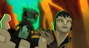 Darkfurnus na ręce lidera dzikiego plemienia