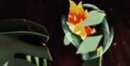 Goon trzyma śluzaka ognia