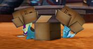 Śluzaki w pudełkach