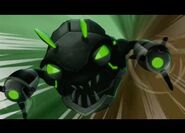 Robo-Zębacz przed atakiem