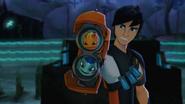 'Burpy' & 'Glimmer' in 'Fusion Blaster'