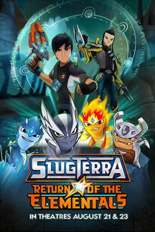 Slugterra: Powrót Śluzaków Pięciu Żywiołów