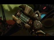 Antyprądniak w blasterze