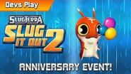 Slug it Out 2 DEVS PLAY HAPPY BIRTHDAY SLUG IT OUT 2!