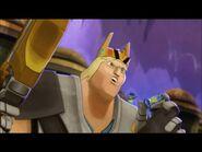 Król trzyma Slirena