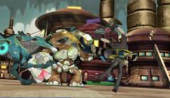 Junjie pushes Swick before his Grenuke explodes