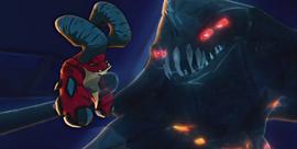 Ostrzejszy Zderzak i potwór