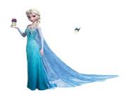 Elsa z śluzakami