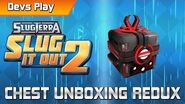 Slugterra Slug it Out 2 DEVS PLAY Chest Unboxing Redux