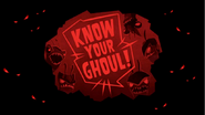 Know Your Ghouls!