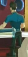 Mario wałkujący ciasto