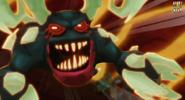 Rozłoszczony Grimmstone atakuje