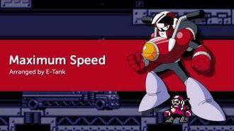 Maximum Speed (Mega Man 10 - Nitro Man)
