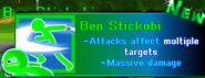 Ben Stickobi's Info