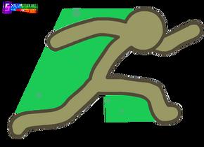 Stickhahntransparent