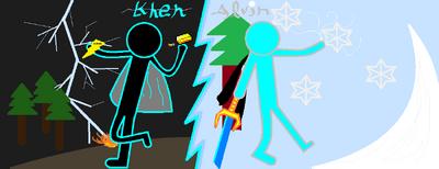 Khen and Alvin