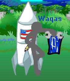 Stick Waqas' Character Pose