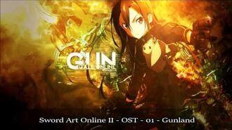 Sword Art Online II ソードアート・オンライン - OST - 01 - Gunland