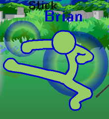 Stick Brian's Character Pose