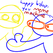 Its frikng birsday