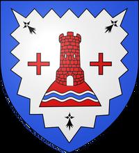 545px-Blason ville fr Saint-Cyr-sur-Menthon (Ain) svg