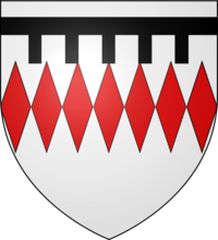 545px-Blason Guy II de Chauvigny (selon Gelre) svg