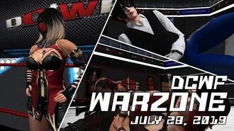 Second Life Wrestling (7.28.2019) DCWF WARZONE