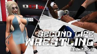 Second Life Wrestling (8.3.2019) DCWF SHOWDOWN
