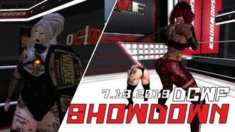 Second Life Wrestling (7.13.2019) DCWF SHOWDOWN