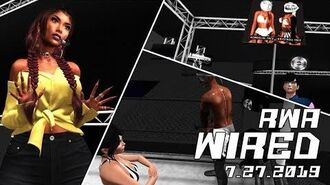Second Life Wrestling (7.27.2019) RWA WIRED