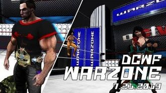 Second Life Wrestling (7.21.2019) DCWF WARZONE