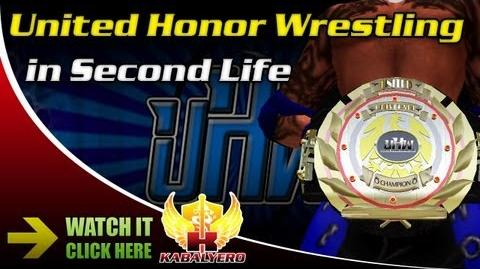 United Honor Wrestling In Second Life Part 4