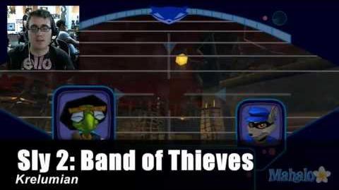 Sly 2 Band of Thieves Walkthrough - Wall Bombing