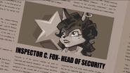Inspector C. Fox-Head of Security