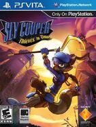 Sly 4 North America cover Vita