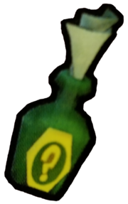 Clue bottle from Sly 1