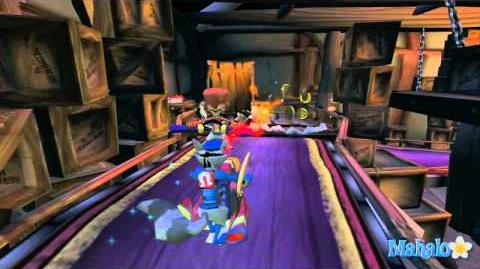Sly Cooper and the Thievius Raccoonus Walkthrough - Fire in the Sky - Rapid Fire Assault
