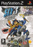Sly 3 Europe cover (English)