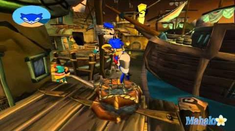 Sly 3 Honor Among Thieves Walkthrough - The Talk of Pirates pt1