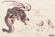 Mech dragonsketch