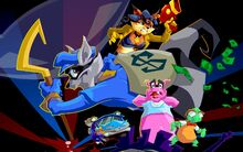 Sly Cooper about
