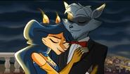 Sly & Carmelita's date Sly 4