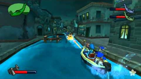 Sly 3 Honor Among Thieves Walkthrough - Canal Chase