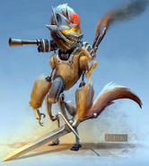 Mechanicalwolfconceptartpaulsullivan