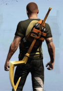 Sly's cane inFamous 2